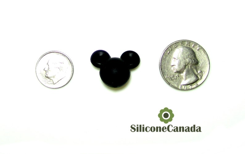 Loose Light Grey Mouse Silicone Beads highest quality Wholesale Bulk Discount. BPA free silicone craft supplies Canada USA Europe