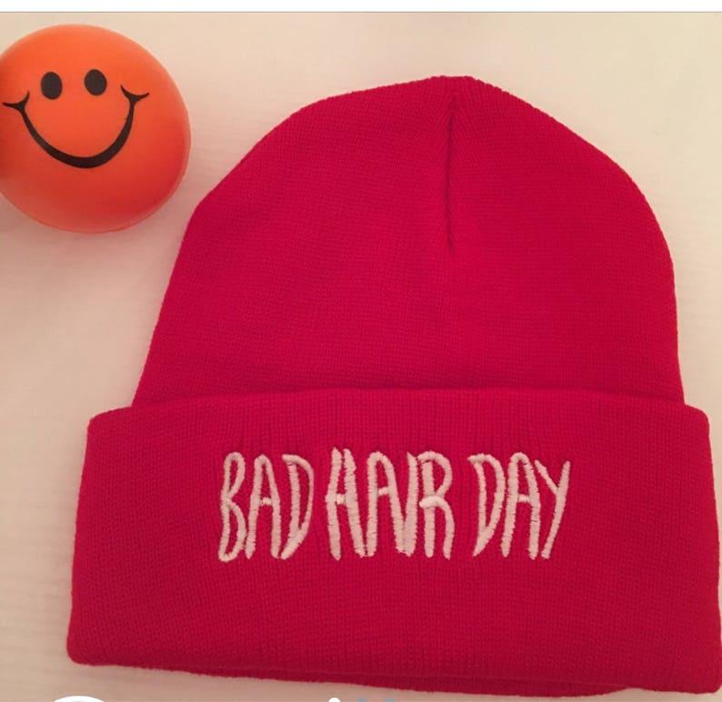 Bad hair day beanie