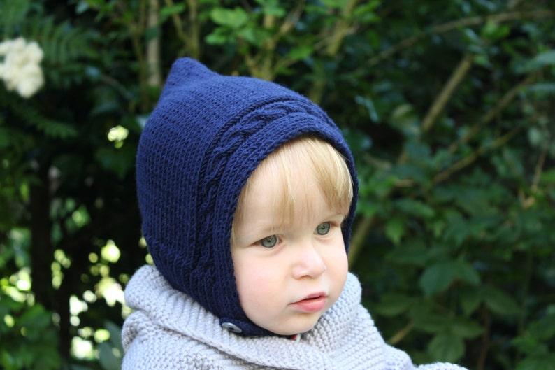 39e1437b5ee Hand Knitted Pure Merino Wool Baby Toddler   Kids Elf Pixie