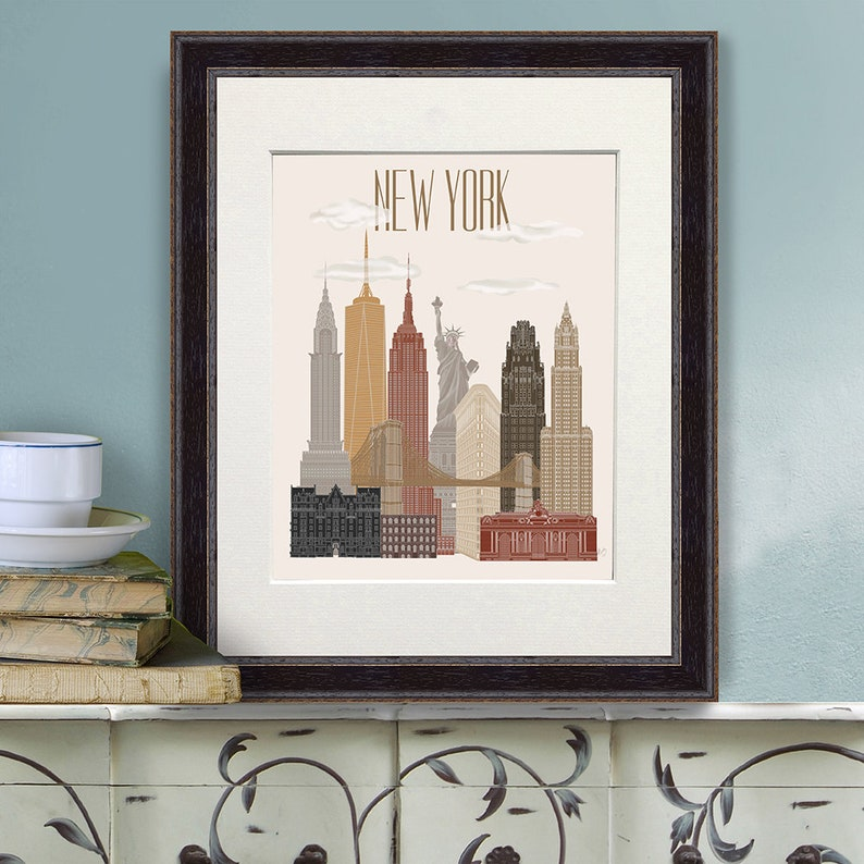 NEW YORK POSTER CENTRAL PARK HOT NEW RARE 24X36
