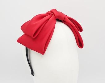 satin bow headband Texas satin big hair bow cute hairband women hair accessory