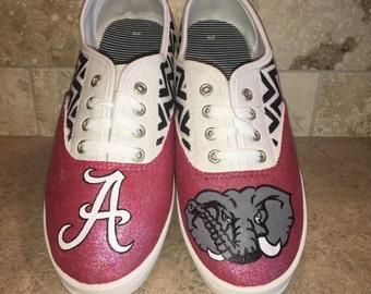 68f7a3dcdf8a Alabama Crimson Tide women s laced shoes