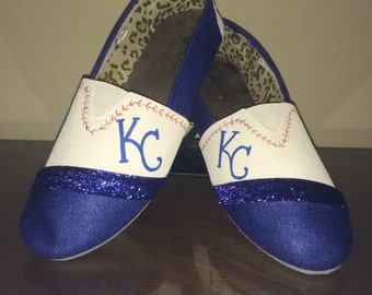 7435188b099bb1 Kansas City Royals kid s shoes KC