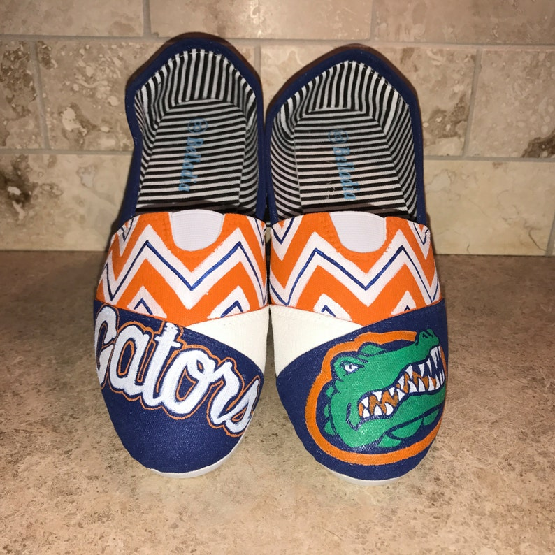 c98eddd5a83 Florida Gators inspired women s shoes Toms available