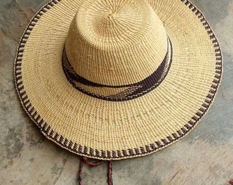 Medium to large hats/ straw hat / men hat / women hat/ birthday gift/ summer essential hat/ woven hat