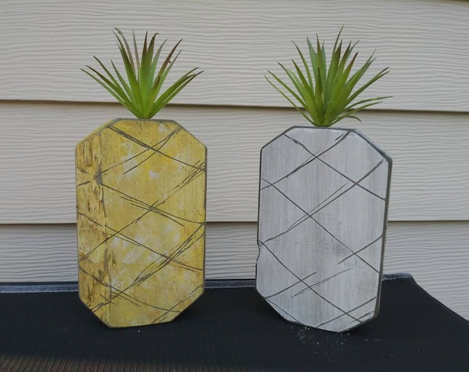 Pineapple Farmhouse Decor Country Rustic Home Decor Accessories