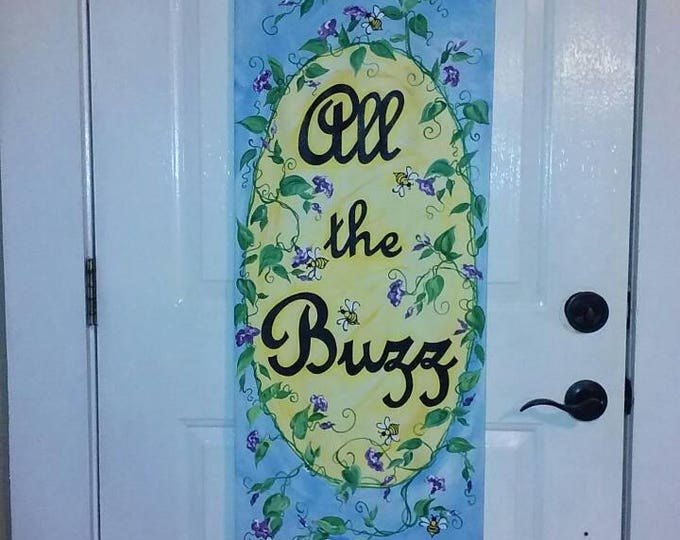 Custom Canvas Signs/Door Hangers