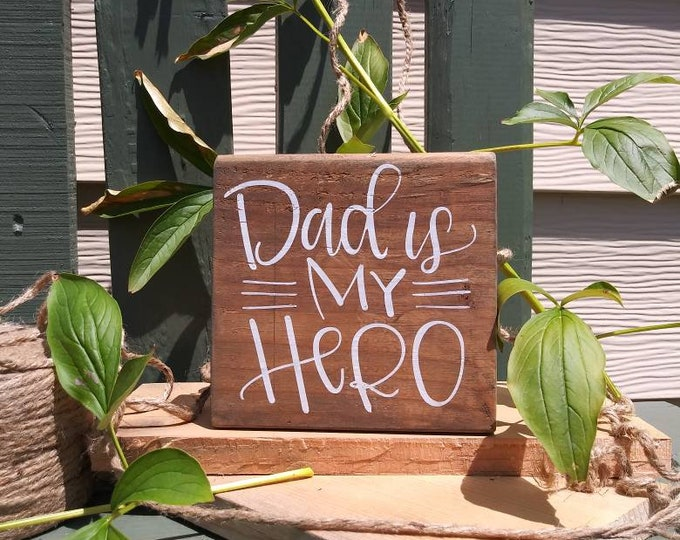 Wooden Sign for Dad, Husband, Brother