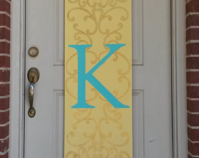 Monogram Door Decoration