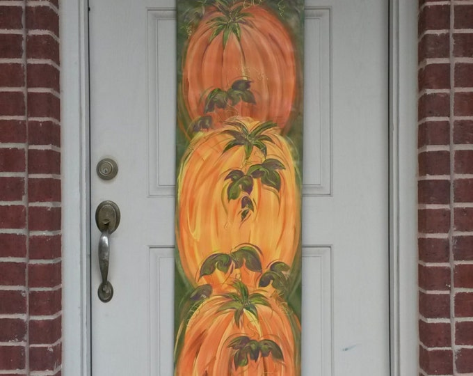 Pumpkins Thanksgiving Door Hanger Decoration Fall Autumn Door Hanger