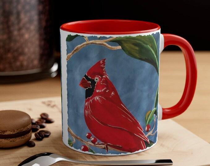 Cardinal Coffee Mug, 11oz