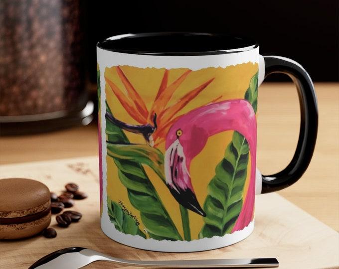 Flamingo Coffee Mug, 11oz