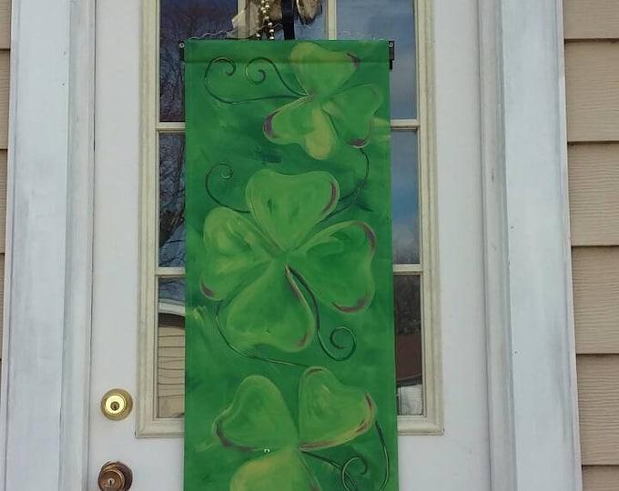St Patrick's Day Door Hanger St Patty's Day Door Hanger Door Decoration Wreath