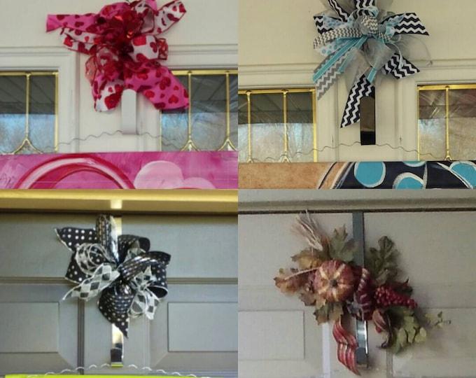 Wreath Hook Door Hanger Hook With Ribbon Door Hook