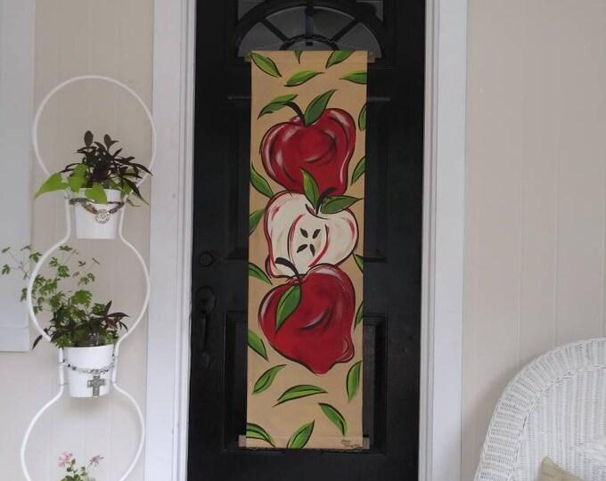 Apples Door Hanger Fall Autumn Door Hanger Apples Decoration Apples for Teacher