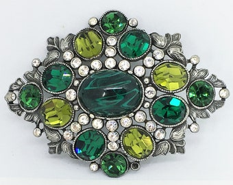 One of a Kind Vintage Brooch Signed gift for her ben amun 1950s Abstract Brooch Rare Vintage Designer Brooch PIN Mother/'s day gift