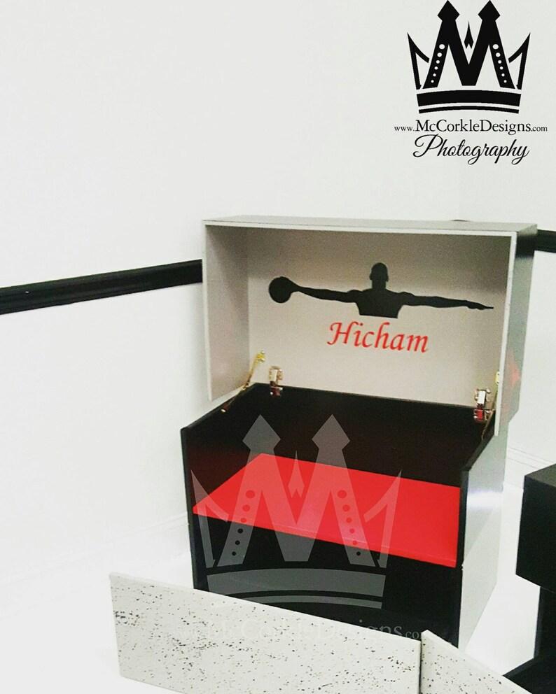 Mini Air Jordan Shoebox Storage Case Stores Up To 8 Pairs Of Etsy