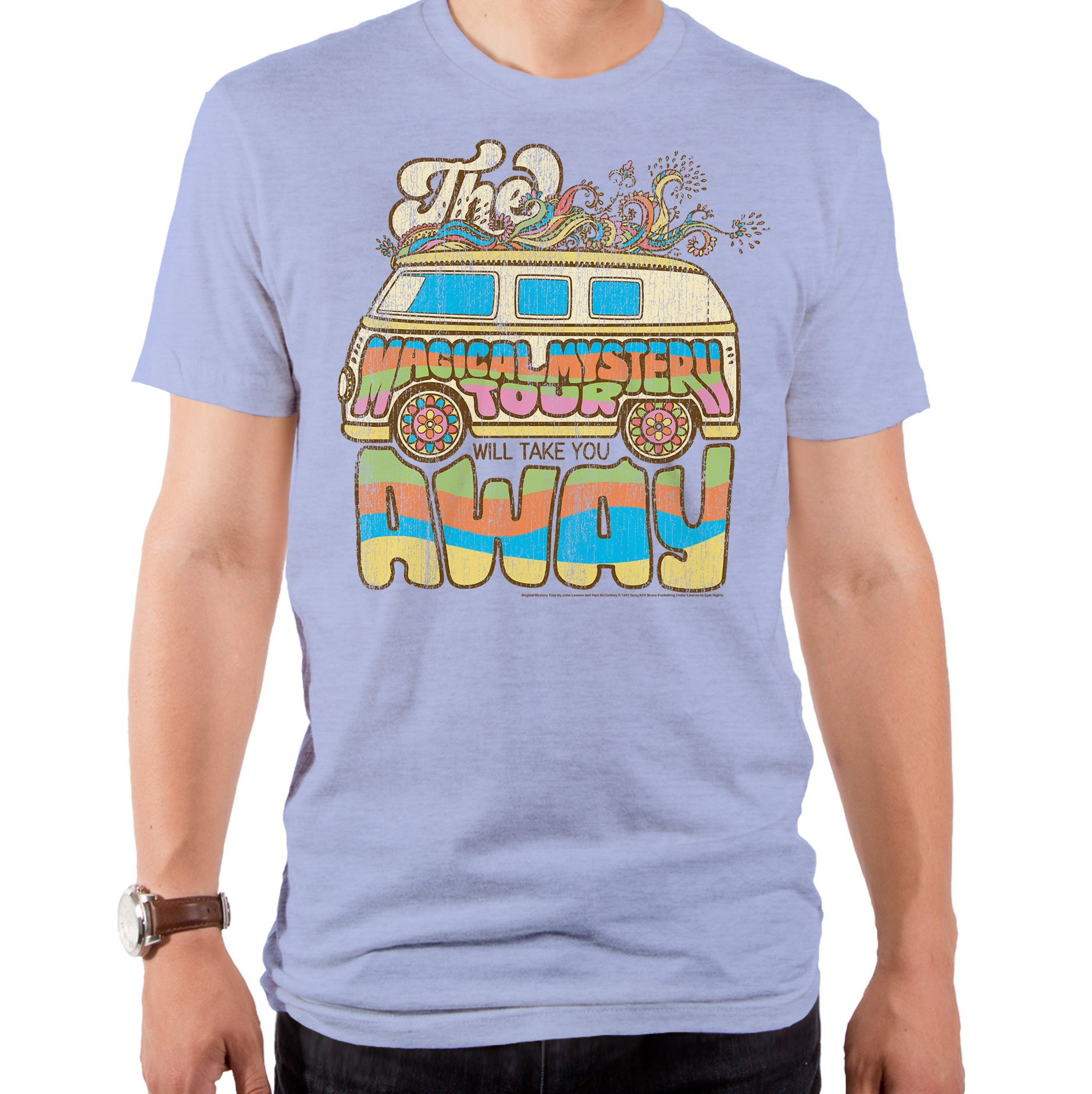 1960s – 70s Men's Ties | Skinny Ties, Slim Ties Magical Mystery Tour Mens T-Shirt  Llm0001-511Orh Lennon  Mccartney, Music, Lyrics, English Musicians, 1960S Compositions $27.95 AT vintagedancer.com