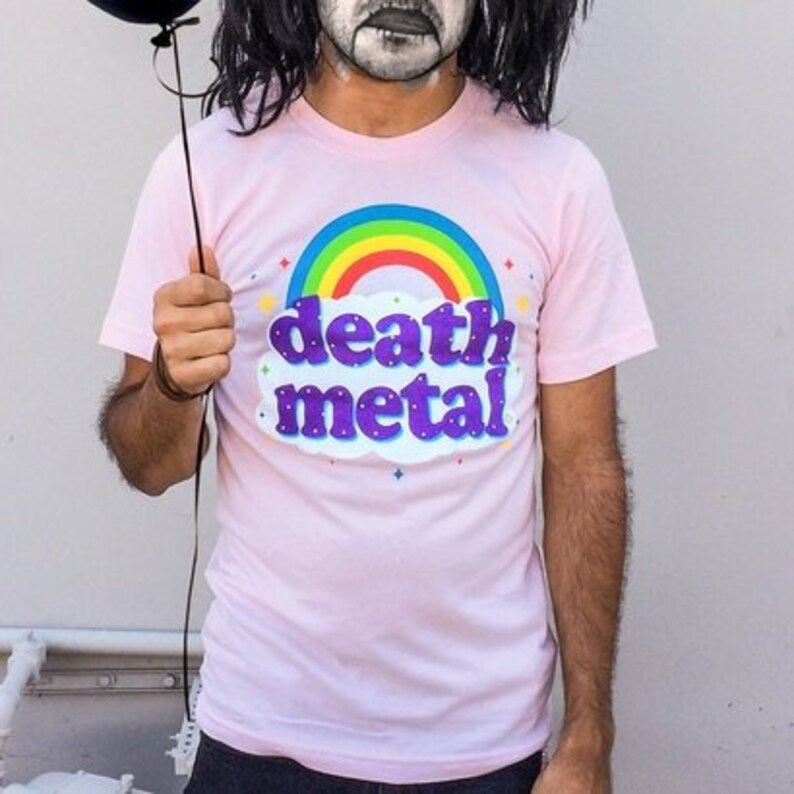 5df37595144 Death Metal Rainbow Men s T-Shirt GT2999-101LPK