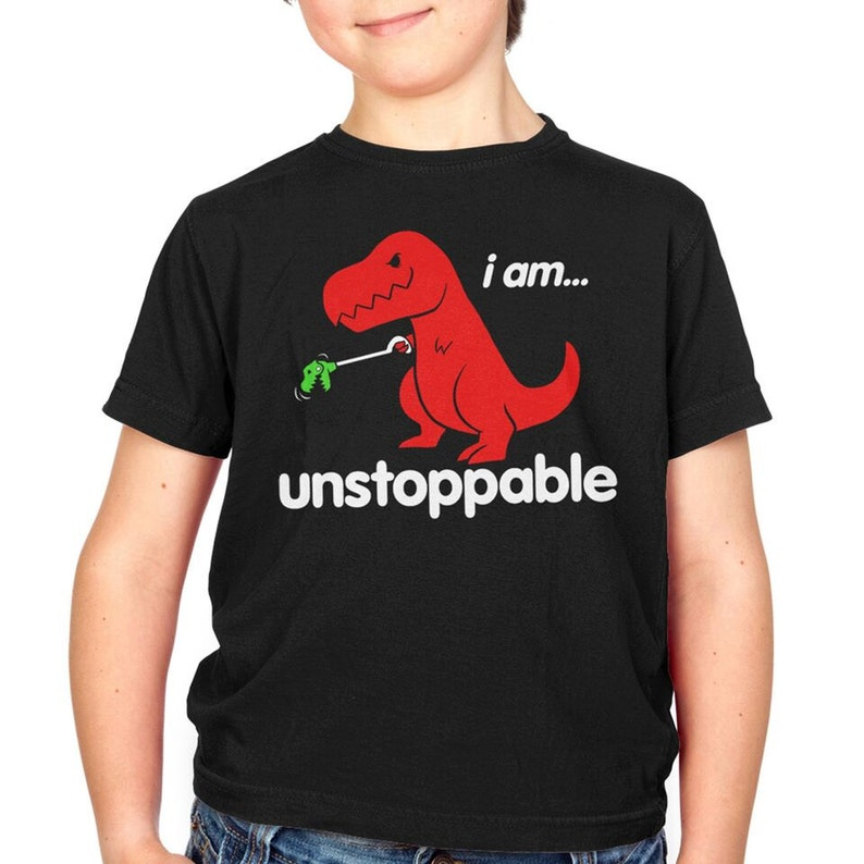 d3664e46 Unstoppable Toddler's T-Shirt GT3300-171BLK toy grabber | Etsy