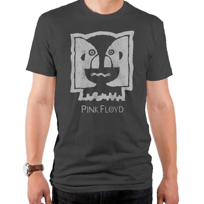 cd68629e5868f2 Pink Floyd Division Twins Men's T-Shirt PNK0253-101HMT | Etsy