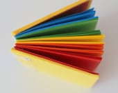 Items Similar To Rainbow Journal Notebook Colored Notebook