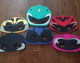 Ready to ship! Personalized Ranger Felt Masks