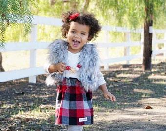 aabfbdaa90 Toddler plaid skirt