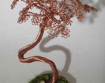 Wire Bonsai Tree, Tree of Life