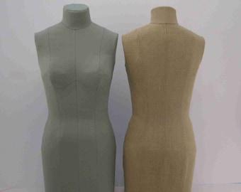 Cover Pattern for Paper Half Scale Dress Form - Digital PDF