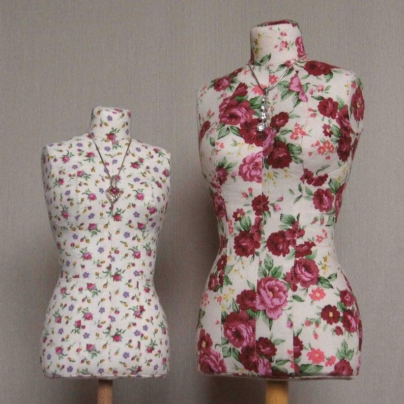 PDF: Mini Stuffed Dress Form Pattern image 0