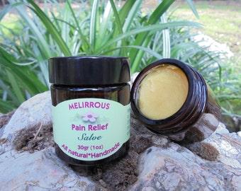 Pain Relief  Salve, Beeswax Handmade Herbal Healing Salve.Anti-inflammatory, All Natural  Organic Oils