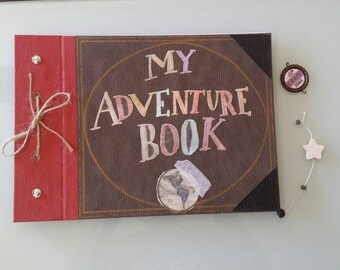 My Adventure Book-photo album and souvenirs inspired by the movie UP
