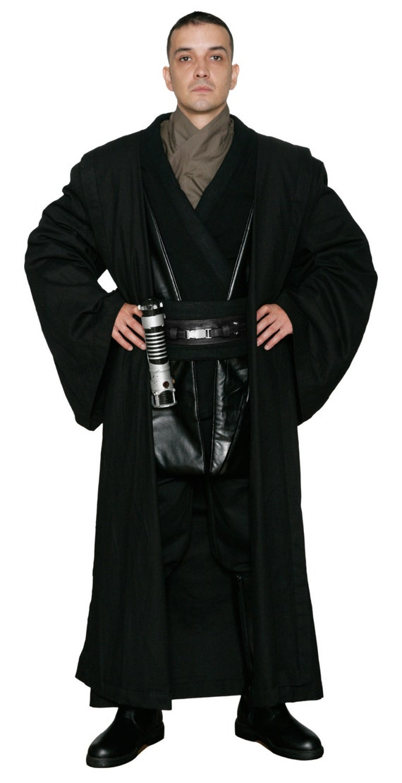 from UK Pouches Food Caps Covertec for an Anakin Costume Star Wars Belt Black