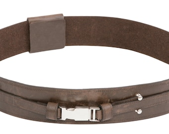 Star Wars Anakin Skywalker Brown Replica Leather Jedi Belt
