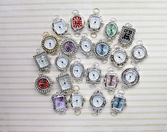 Assorted watch faces for interchangeable bands
