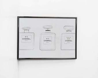 Chanel N5 | Art Print