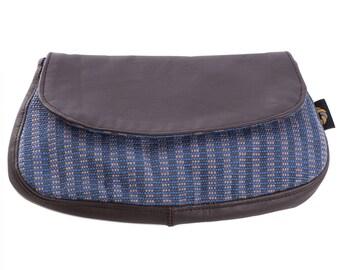 Blue Woman's Wallet // Ladies Coin Purse // Handmade, Fairtrade