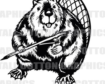 BEAVER  Vinyl Decal #WL102