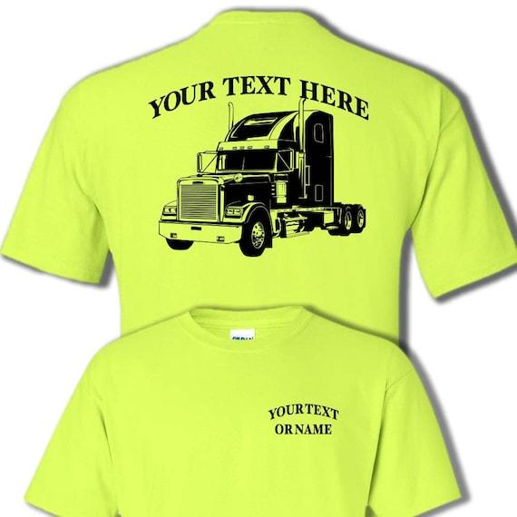 Peterbilt heavy truck vehicle t-shirt USA motor sleeper tee