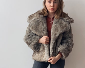 9d7cddbfe49e Faux wolf jacket