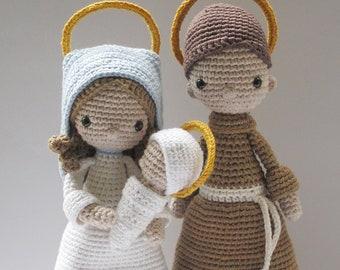 5d5ef1bd0e703 Nativity Set - Crochet Pattern by  Amour Fou