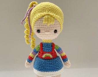 Rainbow Brite Tribute - Crochet Pattern by {Amour Fou}