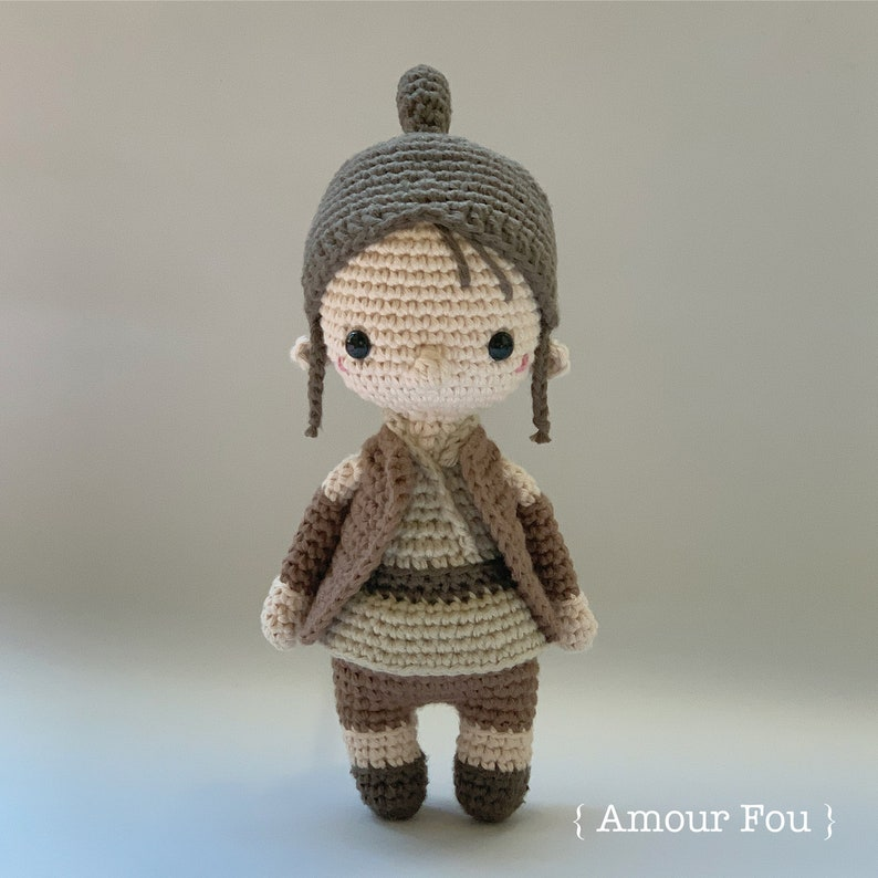 Rey Star Wars Tribute  Crochet Pattern by Amour Fou image 0