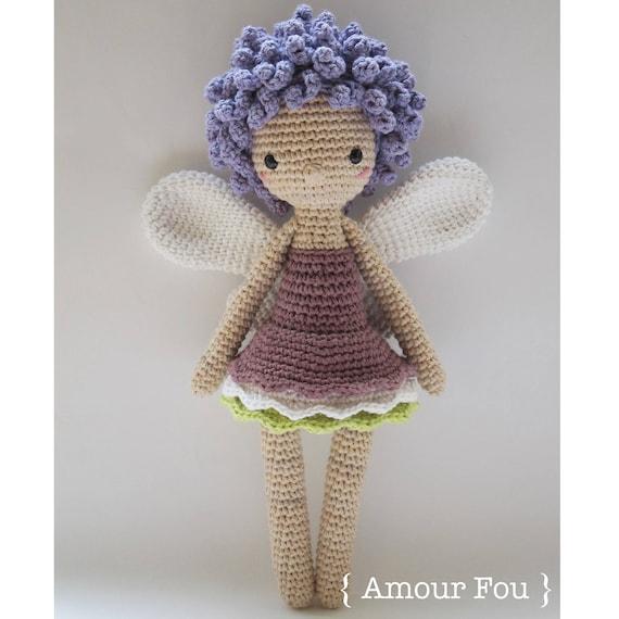 Aurélie the Fairy Crochet Pattern by Amour Fou   Etsy