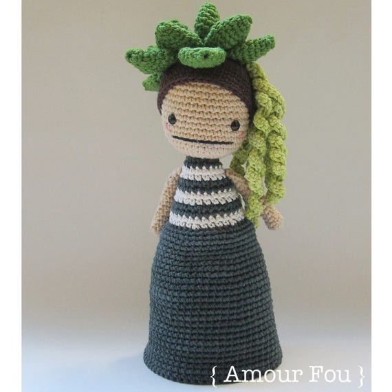 Flora The Succulent Crochet Pattern by Amour Fou | Etsy