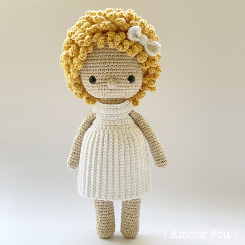 Coralie  Crochet Pattern by Amour Fou image 0