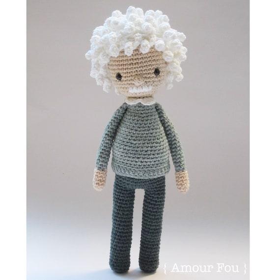 Albert Crochet Pattern by Amour Fou | Etsy