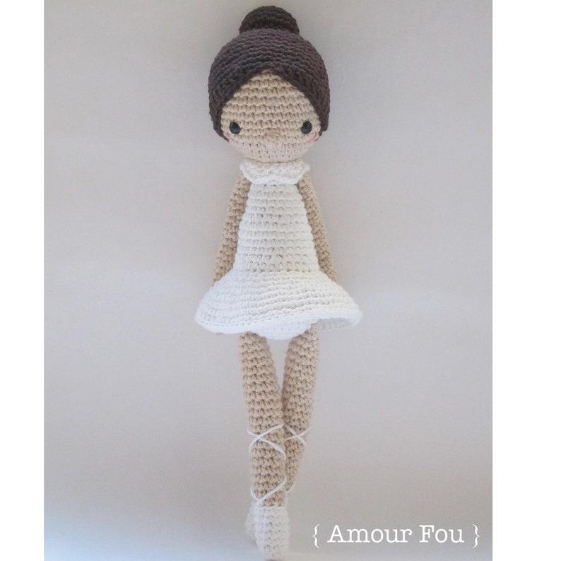 Paloma the Ballerina  Crochet Pattern by Amour Fou image 0