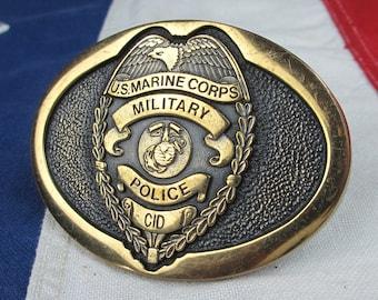 US Air Force Cian Clan Crest Regular Buckle